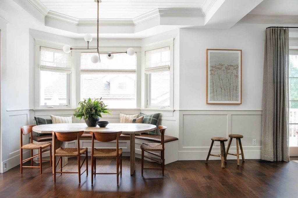 dark timber floors