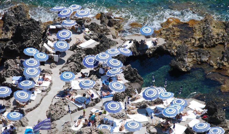 Amalfi Coast Umbrellas