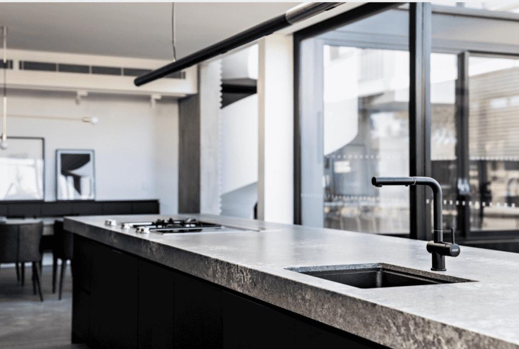 Caesarstone Concrete kitchen benchtop