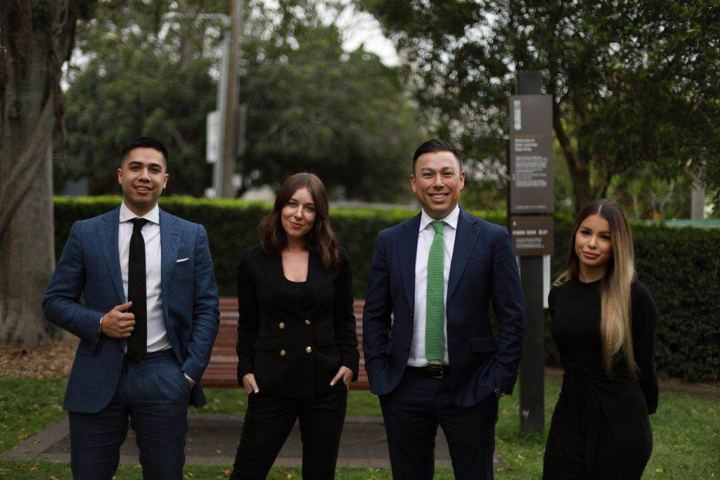 Ercan Ersan and his team from Ray White Erskineville